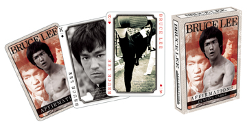 Bruce Lee: Affirmations - Playing Card Deck