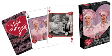 I Love Lucy: Best Friends - Playing Card Deck
