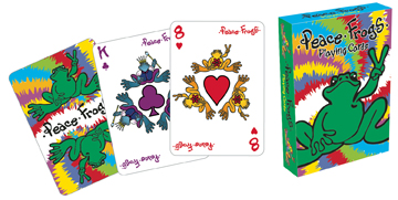 Peace Frogs - Playing Card Deck