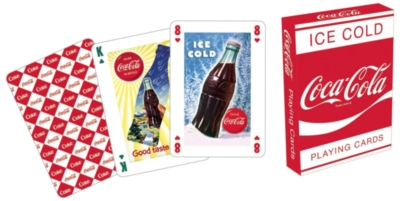 Coca-Cola Red - Playing Card Deck