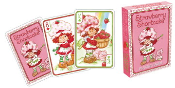 Strawberry Shortcake - Playing Card Deck