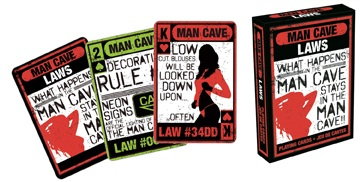 Man Cave Laws - Playing Card Deck