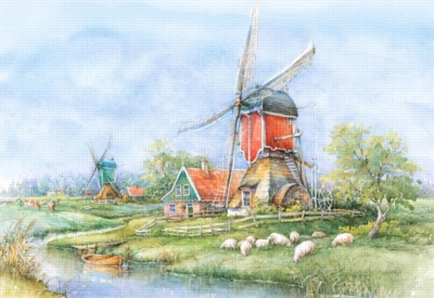 Jigsaw Puzzles - Countryside, Holland