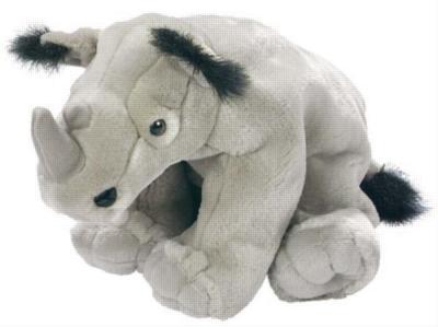 Rhinoceros - 12'' Rhinoceros By Wild Republic