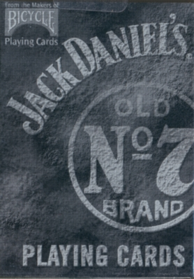 Jack Daniels No. 7 Brand - Playing Cards
