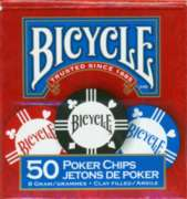 Bicycle: 50 Ct. 8g Poker Chips