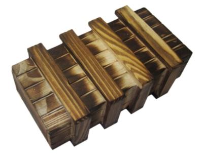 Money Puzzle - Seriously Secret Treasure Box Wood