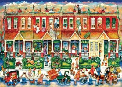Jigsaw Puzzles - Row Houses