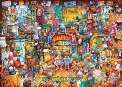 Jigsaw Puzzles - The Antiques