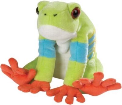 "Red Eyed Tree Frog - 12"" Frog By Wild Republic"