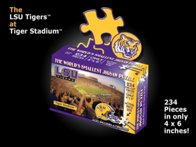 Jigsaw Puzzles - LSU, Tiger Stadium