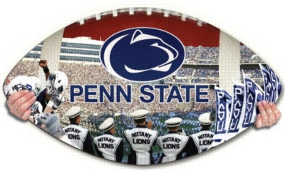 Penn State Nittany Lions - 550pc Shaped Jigsaw Puzzle by TDC