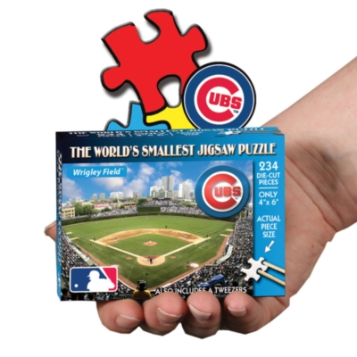 Chicago Cubs: Wrigley Field - 234pc TDC Miniature Jigsaw Puzzle