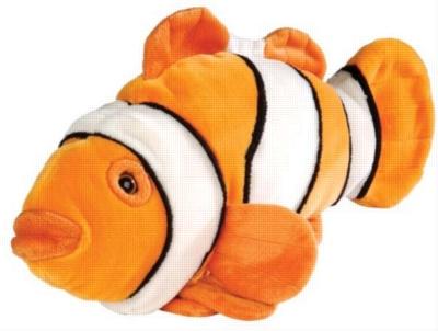 Orange Clownfish - 15'' Fish By Wild Republic