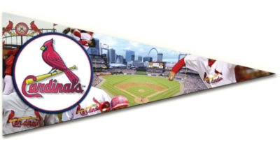 MLB: St. Louis Cardinals - 300pc Pennant-Shaped Jigsaw Puzzle by TDC