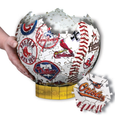 MLB: Jigsawball - 212pc 3D Jigsaw Puzzle by TDC