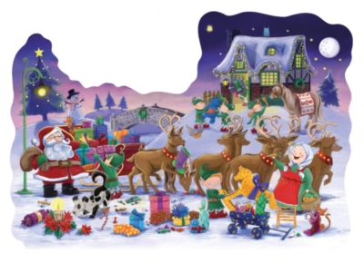 The Night Before Christmas - 32pc Shaped Floor Puzzle by Ravensburger