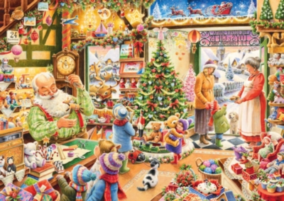 The Christmas Shop - 1000pc Jigsaw Puzzle By Ravensburger