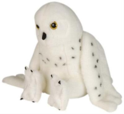 """Snowy Owl - 12"""" Owl By Wild Republic"""