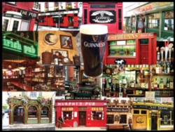 Jigsaw Puzzles - Irish Pubs Collage