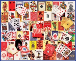 Jigsaw Puzzles - Playing Cards Collage