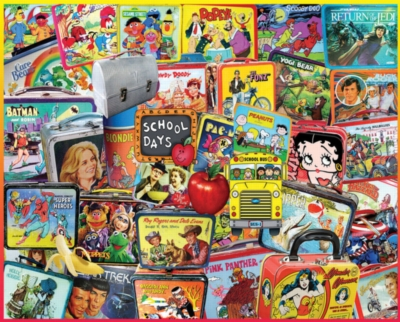Jigsaw Puzzles - Lunch Boxes