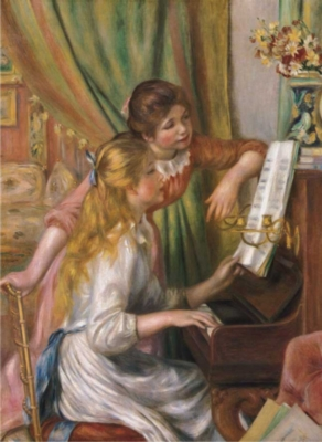 Perre Jigsaw Puzzles - Young Girls At The Piano