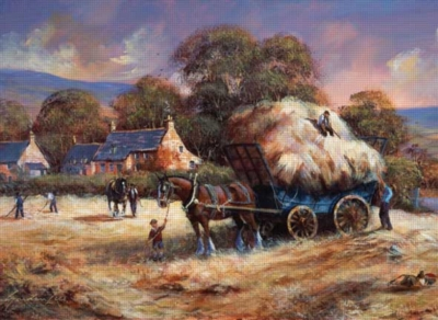 The Harvest - 1000pc Jigsaw Puzzle by Anatolian