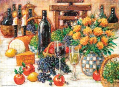 Jigsaw Puzzles - Tuscan Still Life