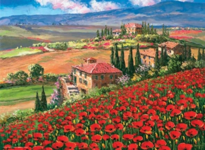 Tuscany Villa - 1000pc Jigsaw Puzzle by Anatolian