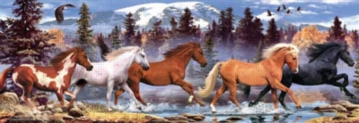 Perre Jigsaw Puzzles - Running Horse