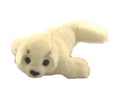 Harp Seal Pup - 9'' Seal By Wildlife Artists