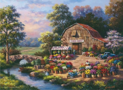 Perre Jigsaw Puzzles - Flower Market
