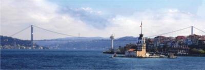 Perre Jigsaw Puzzles - Maiden's Tower Bosphorus Bridge