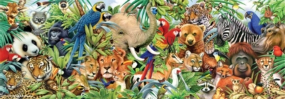 Perre Jigsaw Puzzles - Jungle Panorama
