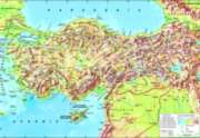 Perre Jigsaw Puzzles - Turkey Topographical Map