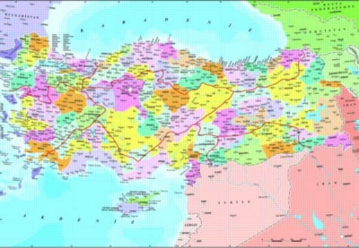 Perre Jigsaw Puzzles - Turkey Political Map