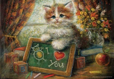 Perre Jigsaw Puzzles - Teacher's Cat