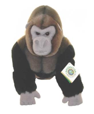 Silverback Gorilla - 19'' Gorilla By Wildlife Artists