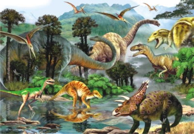 Perre Jigsaw Puzzles - Dino Valley II