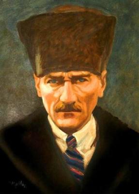 Mustafa Kemal Atatürk - 500pc Jigsaw Puzzle by Anatolian