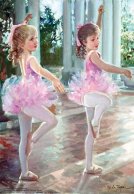 Perre Jigsaw Puzzles - Ballerinas