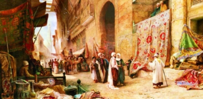 Perre Jigsaw Puzzles - Carpet Bazaar in Cairo