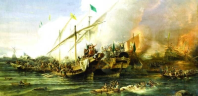 Perre Jigsaw Puzzles - Naval Battle of Preveza