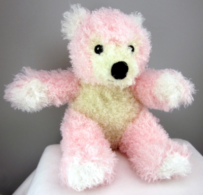 "Pink Bear - 12"" Bear By Wildlife Artists"