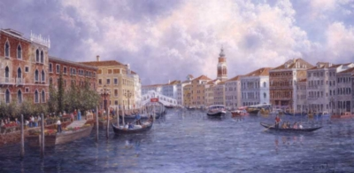 Perre Jigsaw Puzzles - Market Day In Venice
