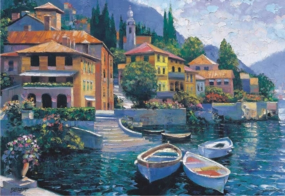 Perre Jigsaw Puzzles - Lake Como Landing