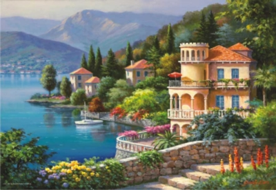 Perre Jigsaw Puzzles - Lakeside Villa