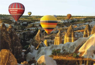 Perre Jigsaw Puzzles - Fairy Chimneys And Balloons