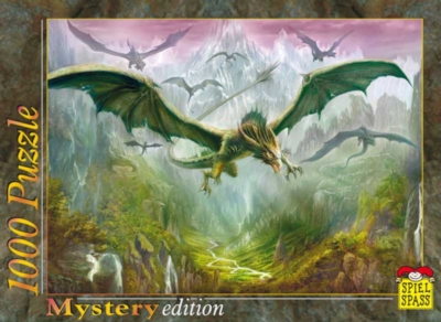 Jigsaw Puzzles - Dragons In Flight
